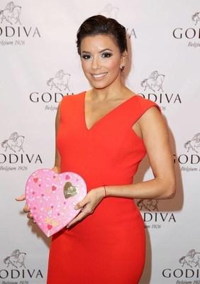 GODIVA ENLISTS ACTRESS EVA LONGORIA TO HELP TRANSFORM PDAs INTO PDGs (PUBLIC DISPLAYS OF GODIVA) THIS VALENTINE'S DAY