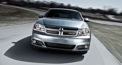 The 2014 Dodge Avenger offers a lot for the price.  (PRNewsFoto/Integrity Chrysler Jeep Dodge Ram)