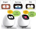 Tapia responds to users based on their emotion, expressing her feelings by the eyes and voice.