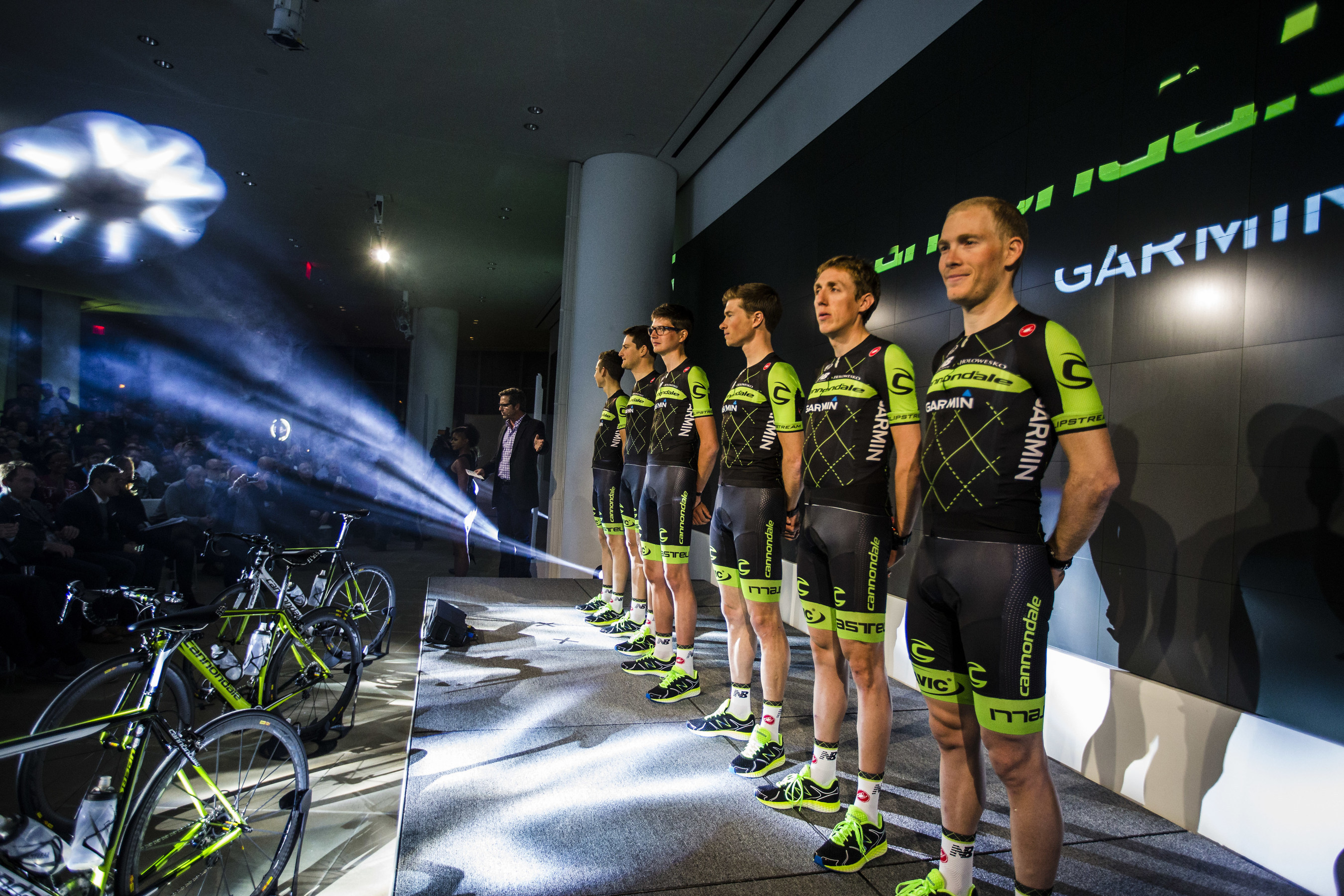 Cannondale-Garmin Pro Cycling 2015 team