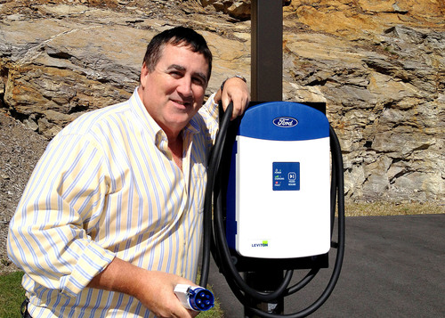 TideSmart Global Installs One of Maines First Electric Car Charging Stations