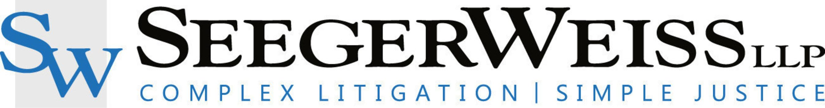 Seeger Weiss, LLP www.seegerweiss.com