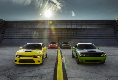 New 2017 Dodge Challenger T/A and Charger Daytona - two performance-upgraded models infused with heritage style.Dodge believes the golden age of performance cars is now, making this year's Woodward Dream Cruise the perfect time and place to reintroduce the brand's two famed, race-bred nameplates -- the new 2017 Challenger T/A and Charger Daytona -- muscle cars that deliver even more performance and precision to the naturally aspirated HEMI(R) V-8 lineup with unique powertrain induction and exhaust enhancements, chassis upgrades for greater handling and braking, plus functional performance styling appointments inside and out.