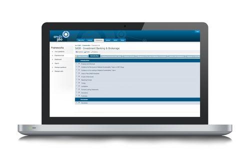 SASB framework in the CRedit360 system (PRNewsFoto/CRedit360)