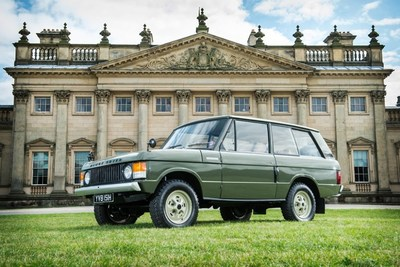 Bid on the first Range Rover, chassis #001, in the Salon Prive classic car sale Sept. 4 in London or online via Proxibid.com/silverstone. (PRNewsFoto/Proxibid)