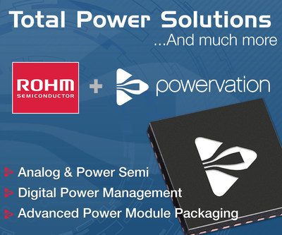 ROHM Semiconductor acquires Powervation