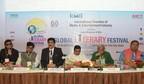 Sandeep Marwah at the Grand Inauguration of Global Literary Festival Noida with Dr. Aziz Burney, Narendra Kr. Verma, Dharmendra Yadav, Ashok Bajpai & Pankaj Kumar Singh