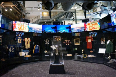 """Gridiron Glory: The Best of the Pro Football Hall of Fame Exhibit"" will be at the Triton Museum of Art in Santa Clara from January 18, 2016 - February 14, 2016."