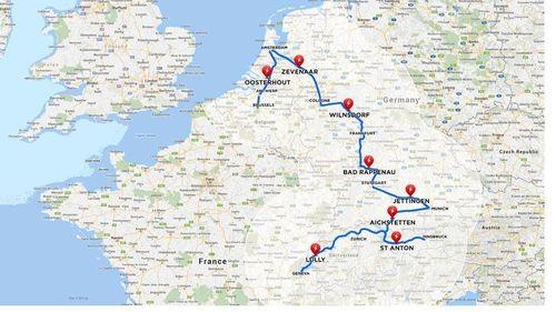 January 2014- Superchargers energized in DACH region and Netherlands (PRNewsFoto/Tesla Motors Ltd)