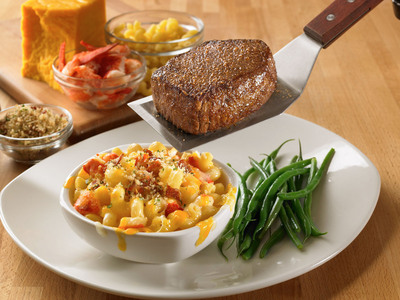 Outback Steakhouse's Perfect Pair: Award-winning Steak with new Lobster Mac. (PRNewsFoto/Outback Steakhouse) (PRNewsFoto/OUTBACK STEAKHOUSE)