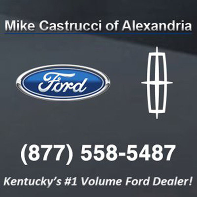 Mike Castrucci of Alexandria - Kentucky's number-one volume Ford dealer!  (PRNewsFoto/Mike Castrucci of Alexandria)