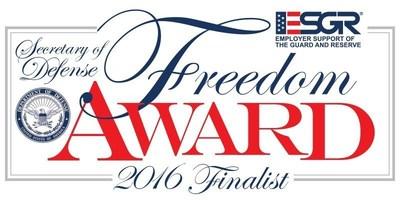 2016 Secretary of Defense Employer Support Freedom Award