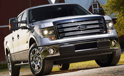 Osseo Automotive stocks the new Ford F-150 near Eau Claire, WI.  (PRNewsFoto/Osseo Automotive)