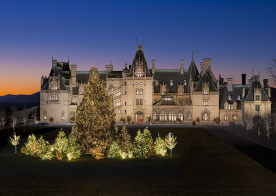 Known as one of the Southeast's most beloved and storied holiday travel destinations, Christmas at Biltmore is Nov. 3, 2012 through Jan. 1, 2013.  (PRNewsFoto/Biltmore)