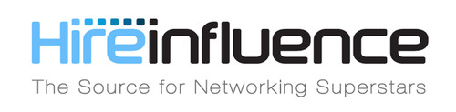 HireInfluence: The Source for Networking Superstars. (PRNewsFoto/HireInfluence, Inc.) (PRNewsFoto/HIREINFLUENCE, INC.)