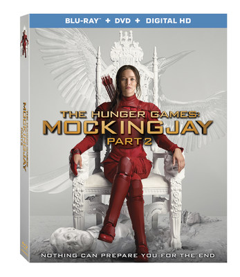 The Hunger Games: Mockingjay - Part 2 Blu-ray box art