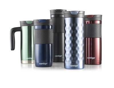 Stylish and leak-proof, a SNAPSEAL Contigo travel mug is the perfect gift for anyone on your list!