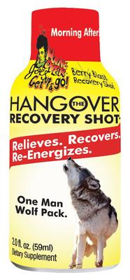 """The Hangover"" Recovery Shot.  (PRNewsFoto/Hangover Joe's Get Up & Go)"