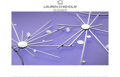 Lauren Chisholm.  (PRNewsFoto/Lauren Chisholm Fine Art Jewelry)