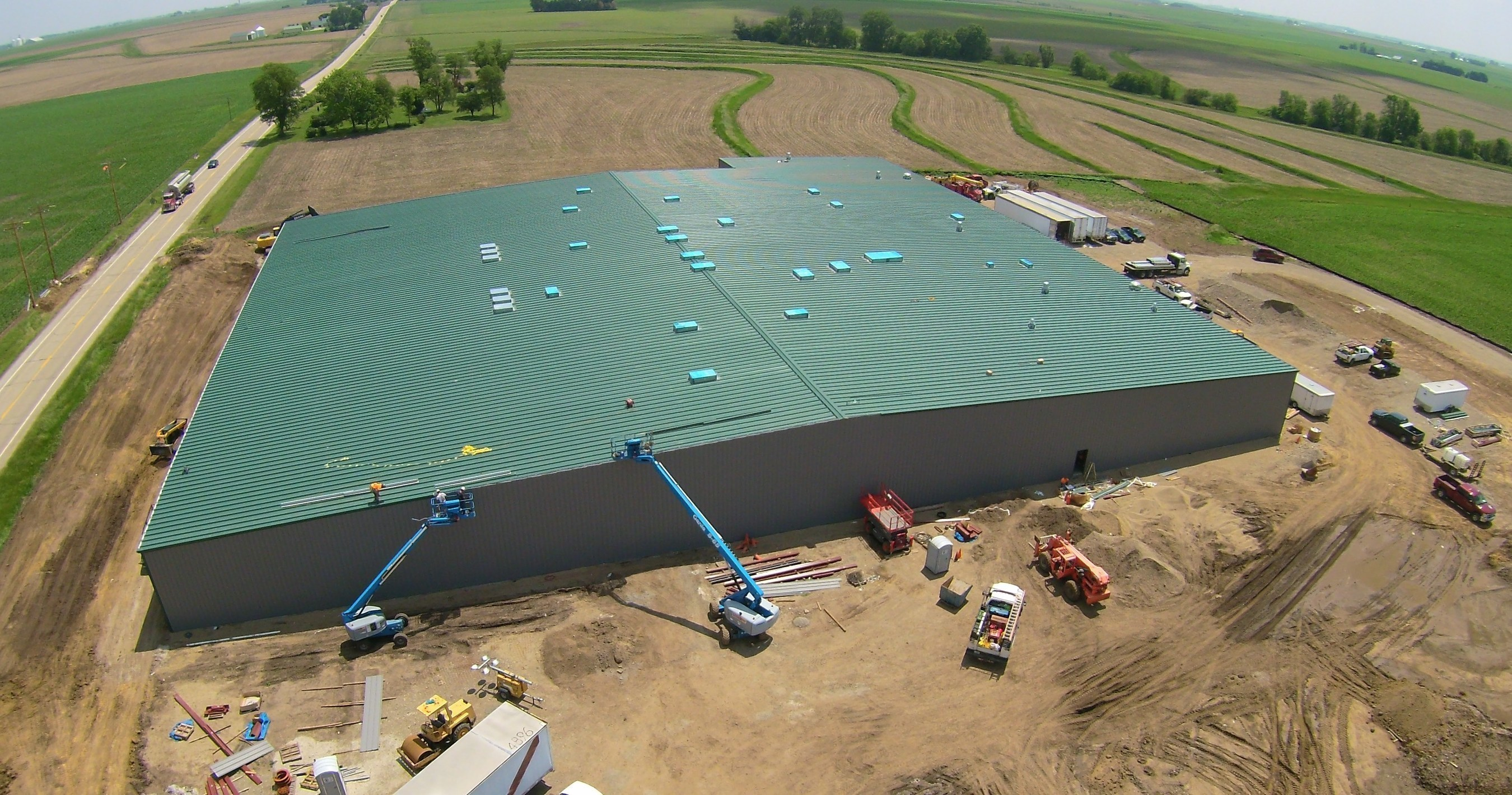Revolution Cannabis- Delavan, a 75,000 sq. ft. cultivation and laboratory facility for producing the world's best cannabinoid medicines.