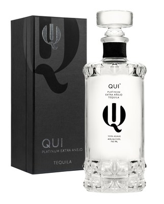 Qui Tequila, the World's First Platinum Extra Anejo Tequila.