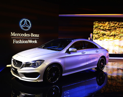 New York Ushers In Mercedes-Benz Fashion Week.  (PRNewsFoto/Mercedes-Benz USA)