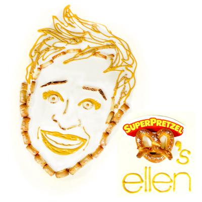 TV host Ellen Degeneres (PRNewsFoto/J&J Snack Foods Corp.)