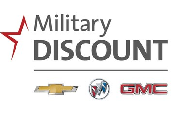 Chevrolet, Buick and GMC Expand Military Discounts