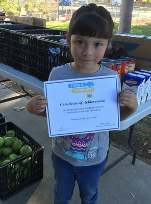 Patricia De La O, First Grader at Eisenhut Elementary School