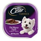 Mars Petcare US Announces Voluntary Recall Of Limited Number Of Cesar® Classics Filet Mignon Flavor Wet Dog Food Because Of Potential Presence Of Plastic