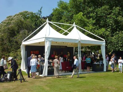 Marquees in the Gardens of Buckingham Palace
