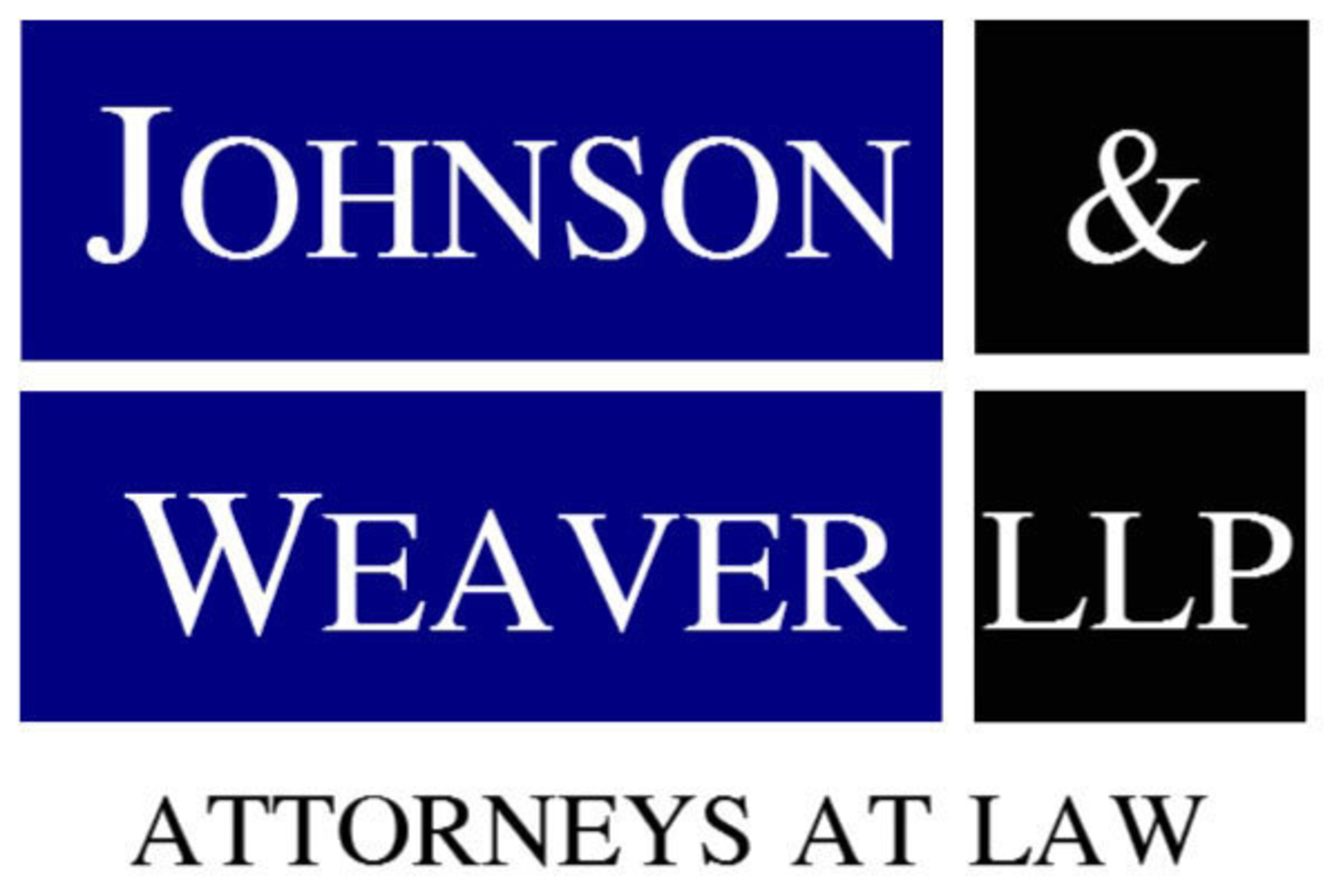 Johnson & Weaver LLP (PRNewsFoto/Johnson & Weaver LLP)