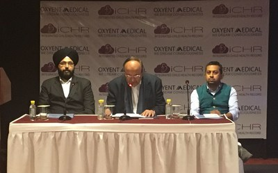 India's first hospital-linked digital platform for keeping children's health records launched (PRNewsFoto/Oxyent Medical)