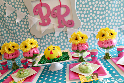Spring Has Officially Hatched At Baskin-Robbins With Introduction Of New Ice Cream Chick Cake. (PRNewsFoto/Baskin-Robbins) (PRNewsFoto/BASKIN-ROBBINS)