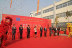 Liqui-Box Taizhou ribbon grand opening cutting.