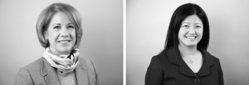 Joy A. Nemitz (left), Chief Marketing Officer, and Sue Perng Lee (right), General Counsel and Corporate ...