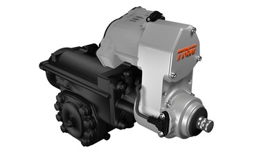 The ActivMode energy efficient hydraulic power steering pump can deliver up to 50 percent reduction in energy consumption compared with traditional pumps in specific configurations. (PRNewsFoto/TRW Automotive Holdings Corp.)