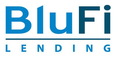 BluFi Lending Logo www.blufi.com.  (PRNewsFoto/BluFi Lending Corporation)