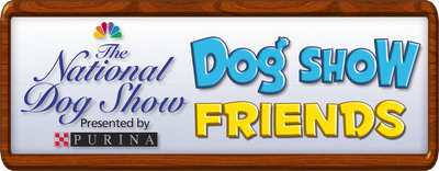 National Dog Show Presented by Purina logo.  (PRNewsFoto/National Dog Show Presented by Purina)