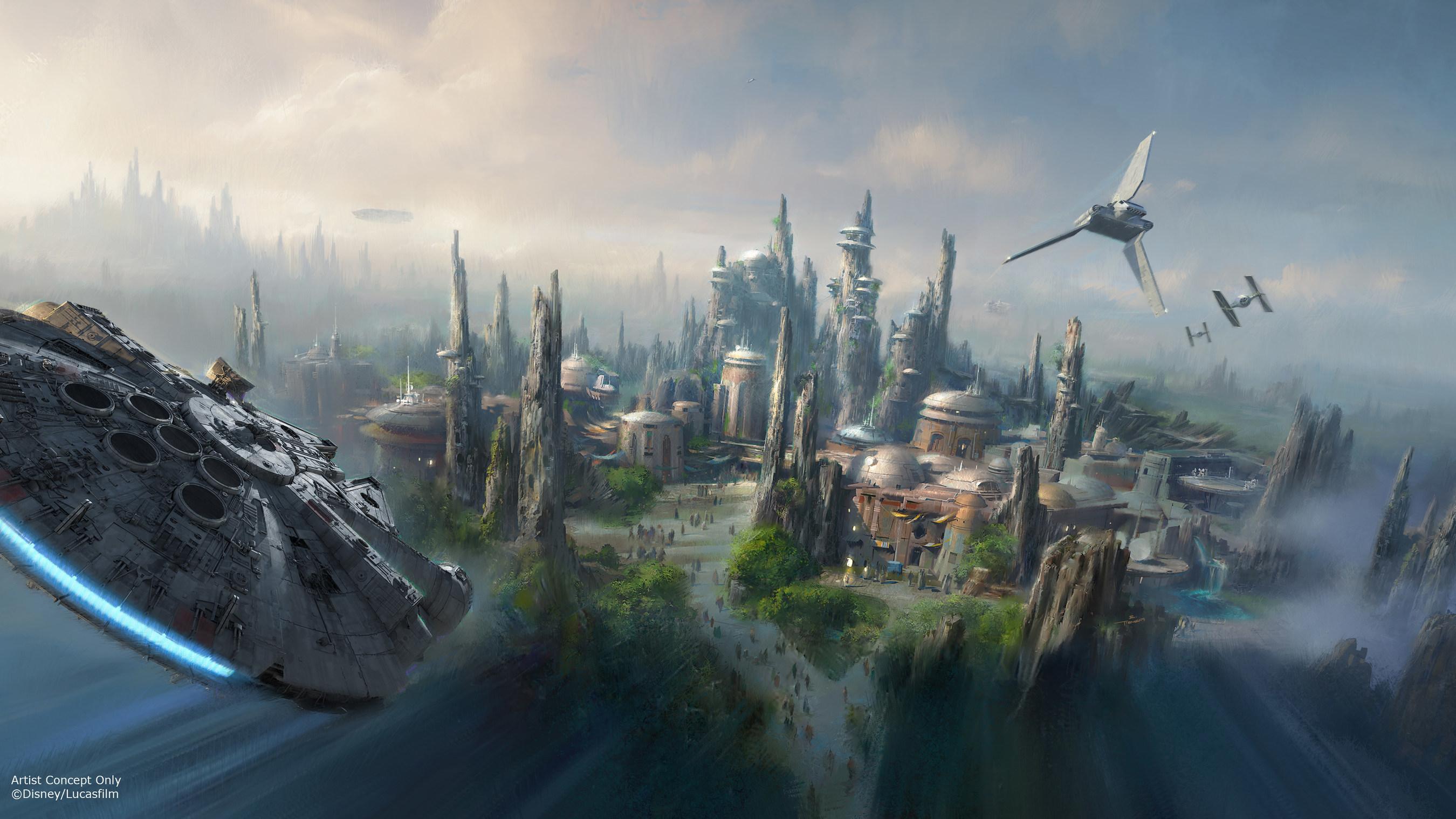 Territorios con temática de Star Wars vienen a Walt Disney World Resort y al Disneyland Resort