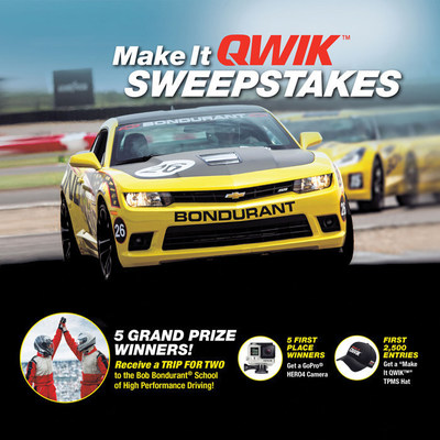 "Standard Motor Products Selects ""Make It QWIK(TM) Sweepstakes"" Winners"