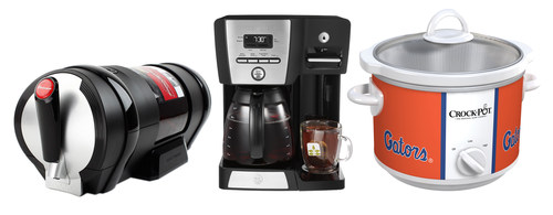The Draftmark(R) Home Tap System, Mr. Coffee(R) Coffeemaker + Hot Shot Station(TM) and Crock-Pot(R) Collegiate ...