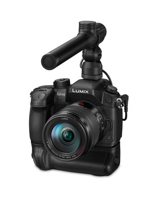 The Panasonic LUMIX GH4 DSLM Camera.  (PRNewsFoto/Panasonic)