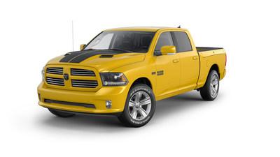Limited-edition 2016 Ram 1500 Stinger Yellow Sport