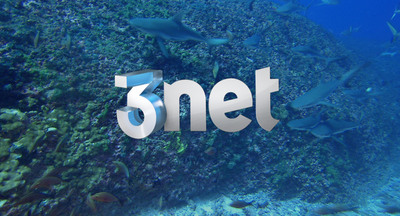 3net announces Sharks 3D marathon event.  (PRNewsFoto/3net)