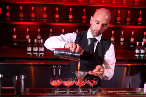 Nick Nistico, winner of the 2012/2013 National Legacy Competition, sponsored by BACARDI Rum.  (PRNewsFoto/United States Bartenders' Guild (USBG))