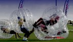 KnockerBall and KnockerSoccer Hits America. KnockerBall is the most fun you will ever have !! GET IN THE BALL. Check out www.knockerball.com for the wackiest NEW sport to hit America.