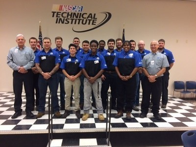 NASCAR Technical Institute's inaugural Mopar TEC class