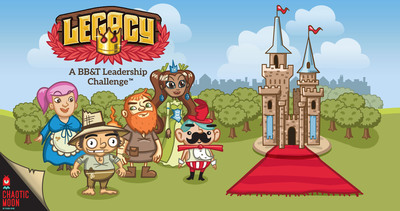 BB&T announces the release of LEGACY: A BB&T Leadership Challenge, an innovative multi-platform, mobile gaming app that teaches players valuable leadership skills. The free game, developed for BB&T by Austin, Texas-based Chaotic Moon, is now available on the Apple(TM) iTunes App Store, Google Play(TM) and at www.downloadlegacy.com.  (PRNewsFoto/BB&T Corporation)