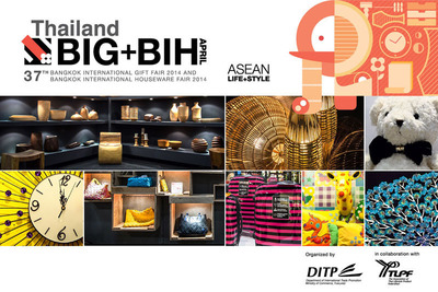 See the most inspired designs of lifestyle products from 600 exhibitors across the world @BIG+BIH April 2014. (PRNewsFoto/Department of International Trade Promotion) (PRNewsFoto/DEPT OF INTL TRADE PROMOTION)